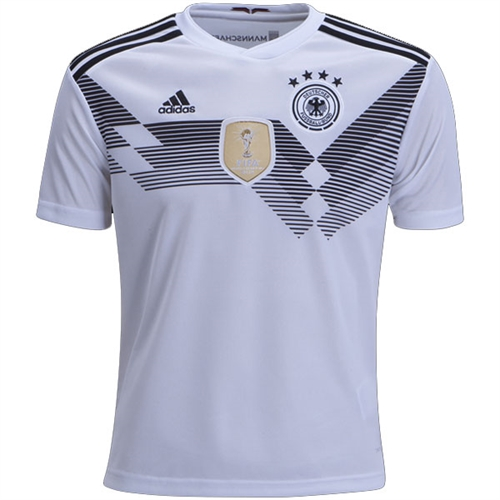 adidas Germany Youth Home Jersey 2018 BQ8460