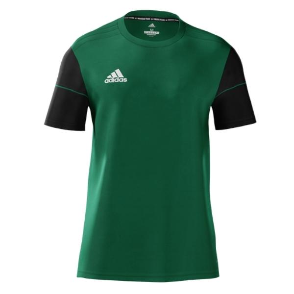 adidas Women's mi Squadra 17 Jersey - Bold Green/Black
