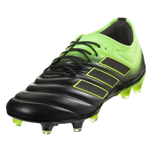 adidas Copa 19.1 FG - Core Black/Solar Yellow BB8088
