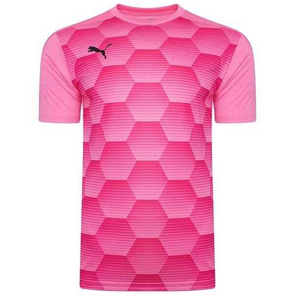 Puma Team Final 21 Graphic Jersey - Pink Glimmer