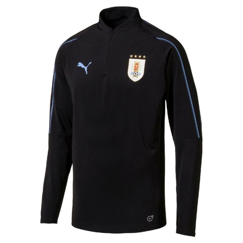 Puma Uruguay 1 4 Training Jersey 2018 - 752588-02 - AuthenticSoccer.com 0db15aa5a