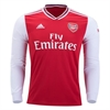 adidas Arsenal Home Long Sleeve Jersey 2019-2020 EH5645