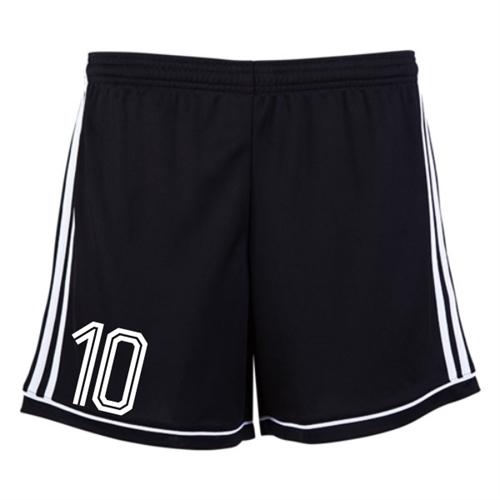 910e1830e7 Jensen Beach adidas Women's Squadra 17 Shorts - Black/White JB-BK4778