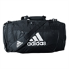 adidas Defender III Medium Duffel - Black/White 5144011