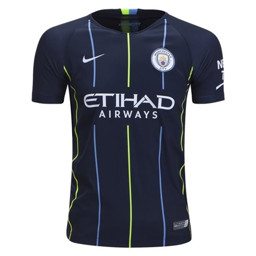 Nike Manchester City Youth Away Jersey 2018-2019 919246-476