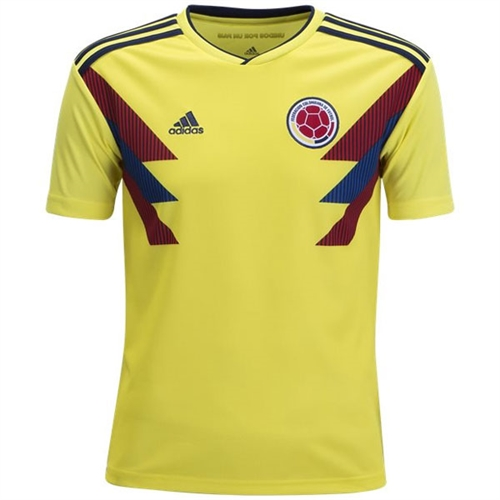 b04066864 adidas Colombia Youth Home Jersey 2018 - BR3509 - AuthenticSoccer.com