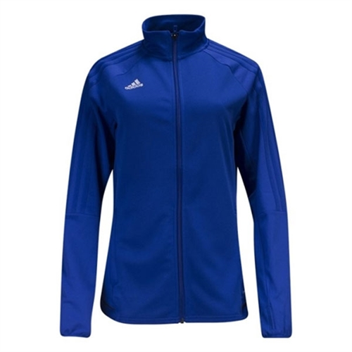 adidas Women's Tiro 17 Training Jacket - Blue BQ8245