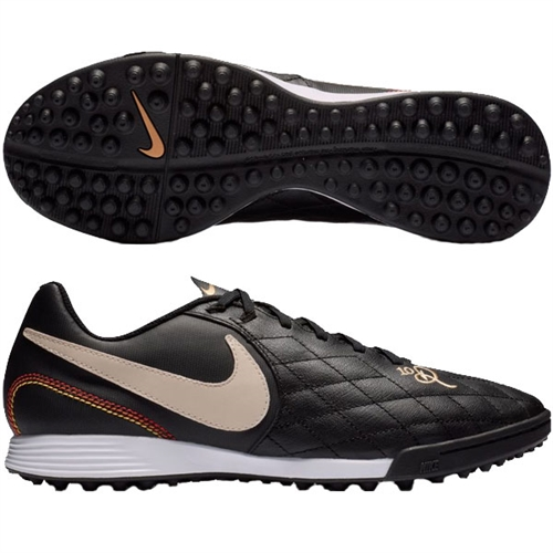 cb9fddb6c61f Nike LegendX 7 Academy 10R TF - Black/Light Orewood Turf AQ2218-027