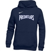 PBG Predators Nike Youth Pullover Fleece Hoodie - Navy PBG-836308-419