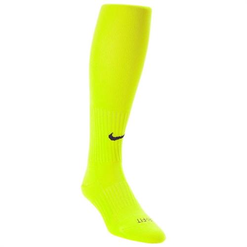 Nike Classic II Sock - Volt Black SX5728-702 - AuthenticSoccer.com fb9d706b0