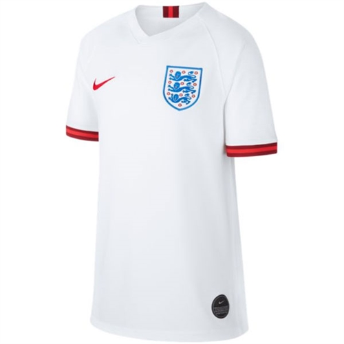 Nike England Youth Home Jersey 2019 AJ4442-100
