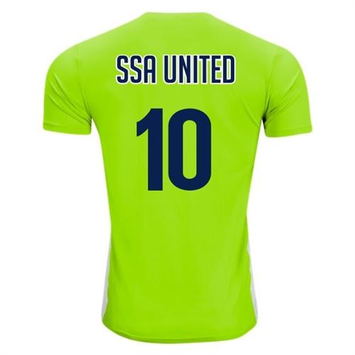 491ade5e893f SSA United adidas Youth Entrada 18 Jersey - Solar Green/White