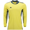 adidas adiPro 20 Youth Goalkeeper Jersey - Yellow/Navy FI4199