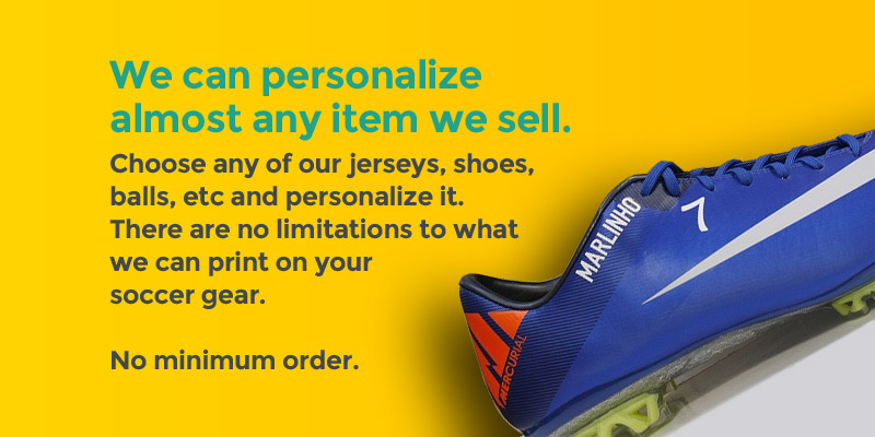 Custom soccer cleats made easy