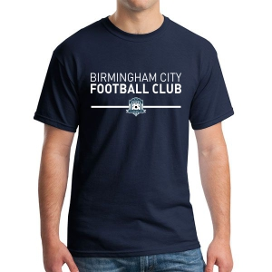 Birmingham City Football Club Supporter T-Shirt - Navy BCFC-G5000
