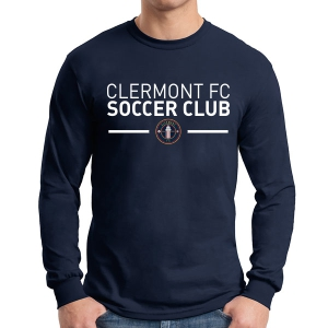 Clermont FC Long Sleeve T-Shirt- Navy G5400Nav