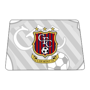 Clermont FC Custom Mouse Pad MSPD-CFC