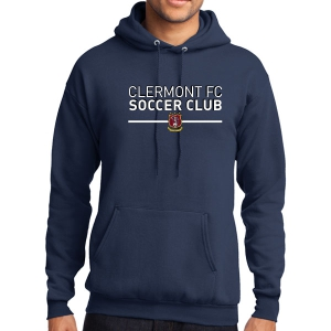 Clermont FC Hooded Sweatshirt - Navy PC78HNv