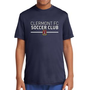 Clermont FC Youth Performance Shirt - Navy YST350Nv