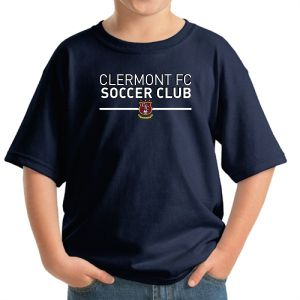 Clermont FC Youth T-Shirt - Navy 5000BNa