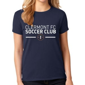 Clermont FC Women's T-Shirt- Navy G5000LNa