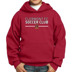 Clermont FC Youth Hooded Sweatshirt - Red PC90YHRe