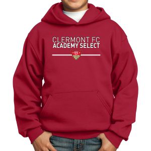 CFC Academy Select Youth Hooded Sweatshirt - Red PC90YHCFCR