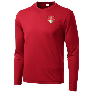 CFC Academy Select Long Sleeve Training Shirt - Red ST350LSAS