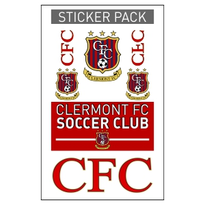 Clermont FC Sticker Pack CFC-STICKER