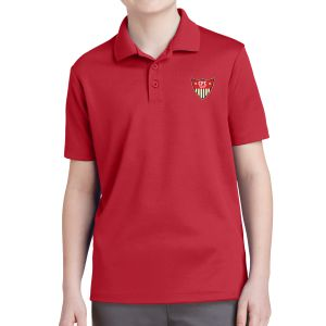 CFC Academy Select Youth Polo Shirt - Red YST640CFCR