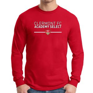 CFC Academt Select Long Sleeve T-Shirt - Red G5400SA
