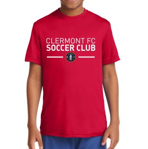 Clermont FC Youth Performance Shirt - Red YST350CR