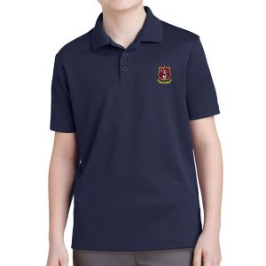Clermont FC Youth Polo Shirt - Navy YST640Nv