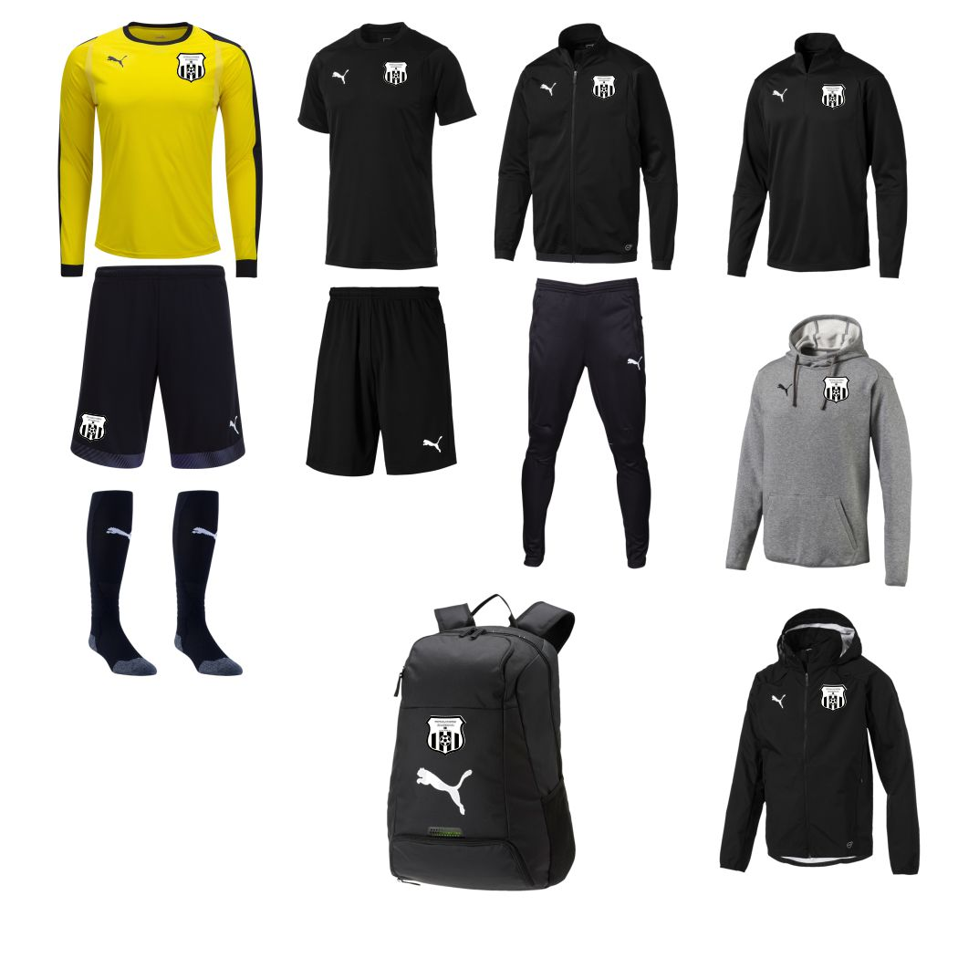 Fotballakademi Skandinavia - Adult Required Goalkeeping Kit FS-ADLTGKKT