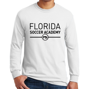 Florida Soccer Academy Long Sleeve T-Shirt - White FSA-G5400