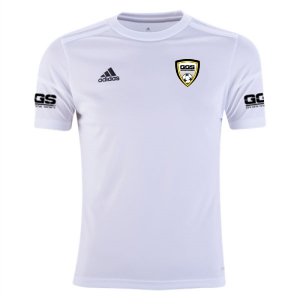 Golden Goal Sports adidas Youth Squadra 17 Jersey - White/White GGS-BJ9197