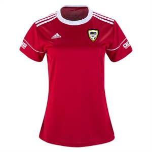 Golden Goal Sports adidas Women's Squadra 17 Jersey - Red/White GGS-BJ9203