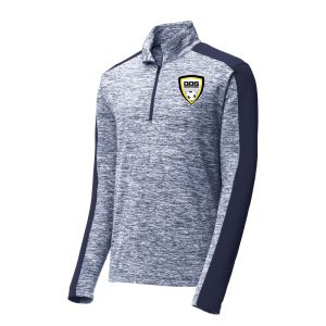 Golden Gold Sport 1/4 Zip Pullover Top - Navy ST397-GGS