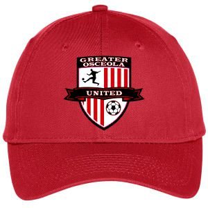 Greater Osceola United Custom Hat - Red C913Rd