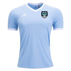 Jensen Beach adidas Youth Tabela 18 Jersey - Clear Blue/White JB-CE8924