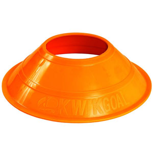 Kwik Goal Mini Disc Cones Hi-Vis - Orange 6A142-HVO