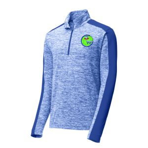Lake Worth Sharks 1/4 Zip Pullover Top - Royal Blue ST397-LWS