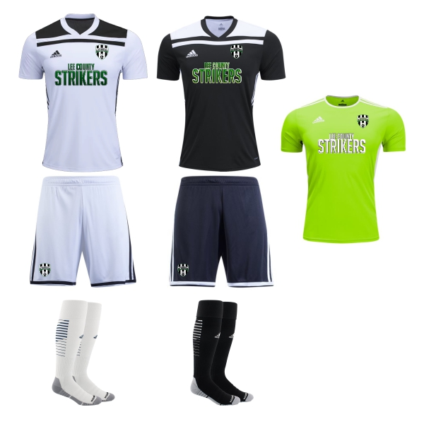 Lee County Strikers - Adult Required Kit 2018 LCS-ADTKIT
