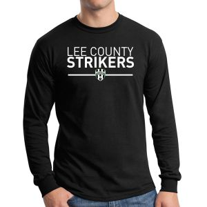 Lee County Strikers Long Sleeve T-Shirt - Black G5400-LCS