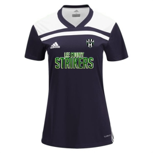 Lee County Strikers adidas Women's Regista 18 Jersey - Black/White LCS-CE8956