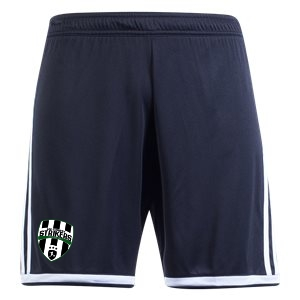 Lee County Strikers adidas Youth Regista 18 Short - Black/White LCS-CF9589