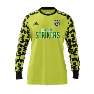 Lee County Strikers adidas Youth Mi Assita 17 Goalkeeper Jersey - Yellow/Black LCS-MIAD2US37945202