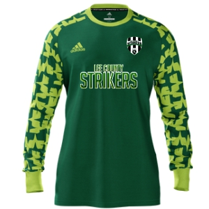 Lee County Strikers adidas Mi Assita 17 Goalkeeper Jersey - Green/Lime LCS-MIAD2US37945207