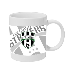 Lee County Strikers Custom Coffee Mug MUG25SS-LCS