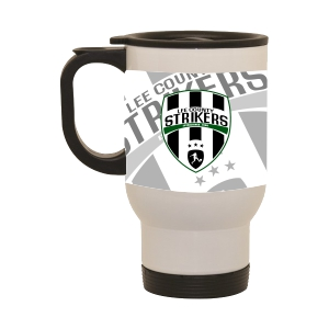 Lee County Strikers Custom Latte Mug LatteLCS